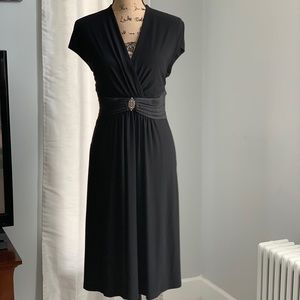 Jones Wear black grecian dress size 16